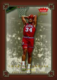 Fleer Greats of the Game Charles Barkley Trading Card