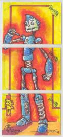 Robots: The Movie Sketch Card Giveaway