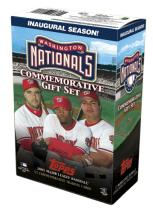 Topps Washington Nationals Commemorative Set