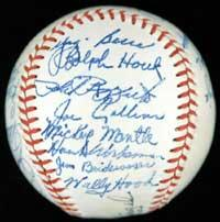 1951 New York Yankees Multi-Signed Baseball