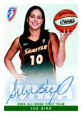Sue Bird Heroes Autographed Card