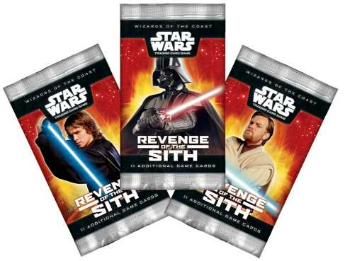 Wizards of the Coast Star Wars Trading Card Game (TCG) Packs
