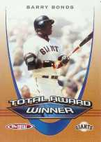2005 Topps Total Baseball - Barry Bonds Total Award Winner Card