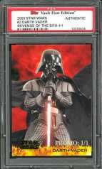 2005 Topps Star Wars: Revenge of the Sith 1-of-1 Darth Vader Promo Card