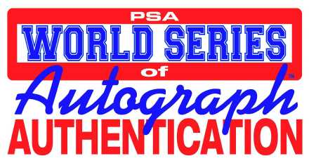 PSA World Series of Autograph Authentication Logo