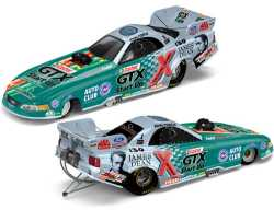 John Force Castrol GTX Start Up/James Dean 50th Anniversary Ford Mustang funny car
