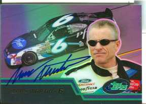 Mark Martin Autographed eTopps Card