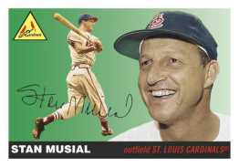 "1955 Topps Baseball ""The Missing Cards"" - Stan Musial"