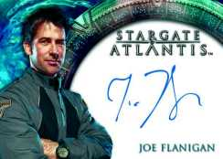 Joe Flanigan Autographed Card