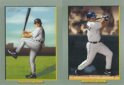 2005 Topps Turkey Red Baseball - Ivan Rodriguez Variation Cards