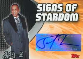 2005-06 Topps Basketball Jay-Z Autographed Card